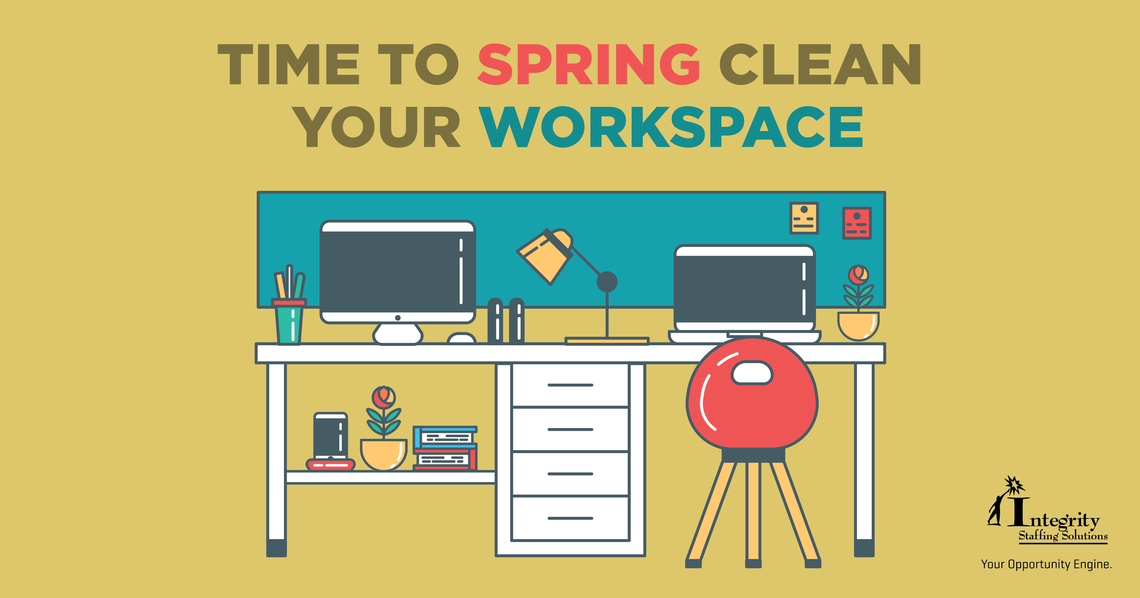 march blog time to spring clean your workspace