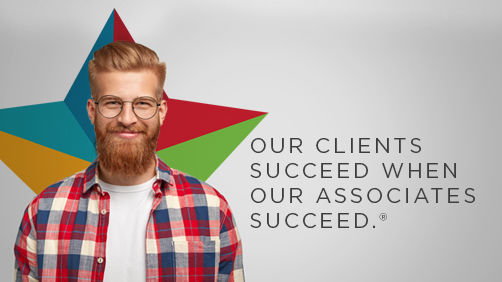 Our clients succeed when our associates succeed.