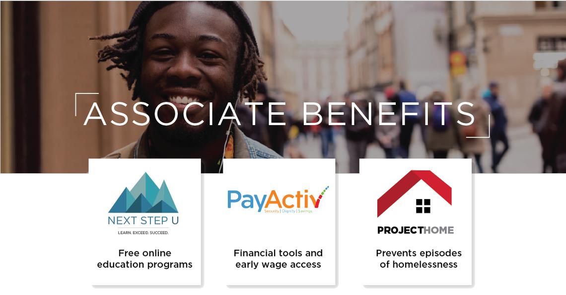 associate benefits