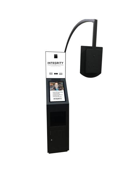 remote temperature check kiosk