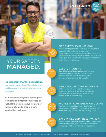 Safety Staffing Solutions - Integrity Staffing Solutions