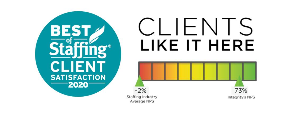 best of staffing 2020 client nps