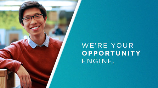 we're your opportunity engine