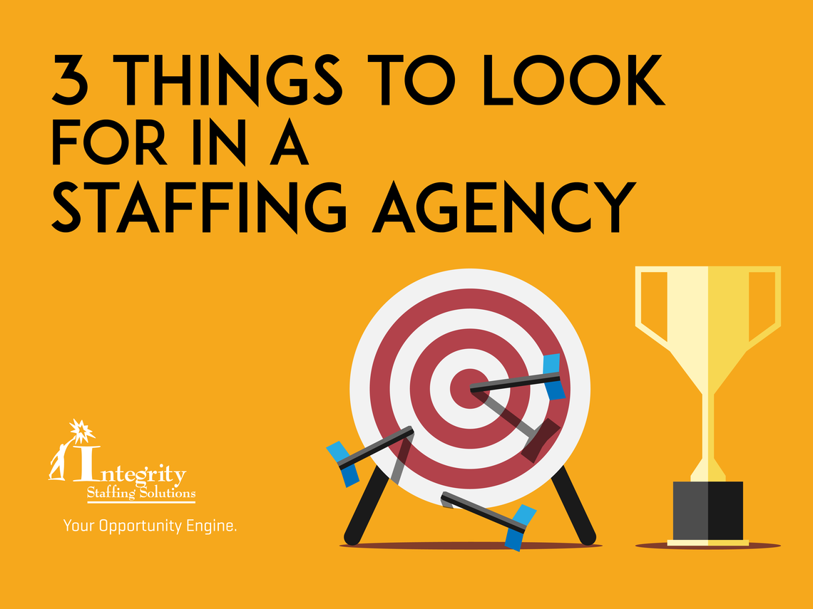 3 Things to Look For in an Agency