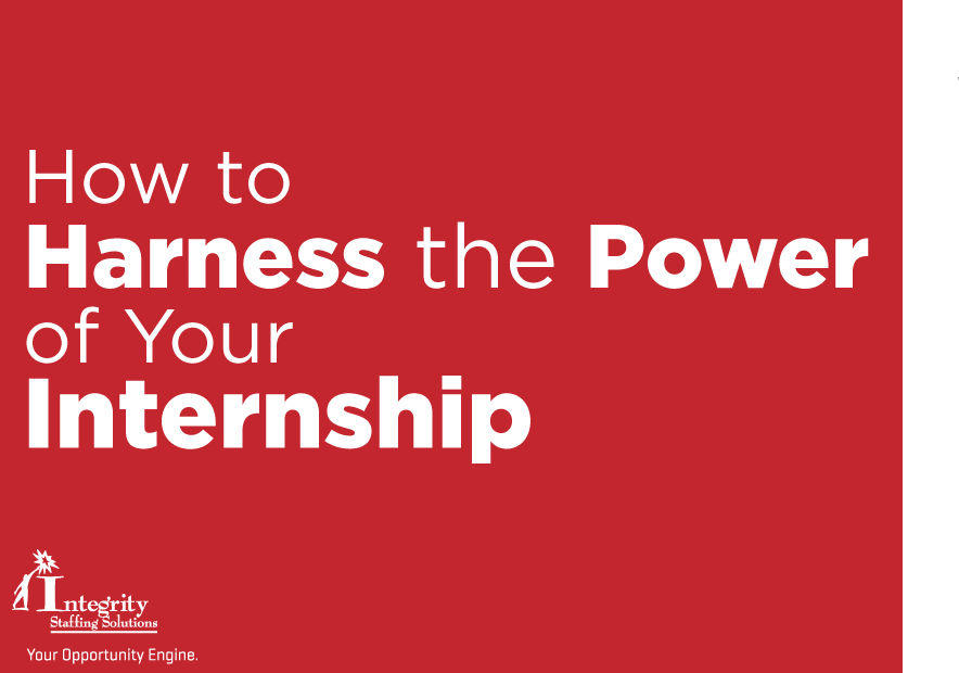 Harness the Power of Your Internship
