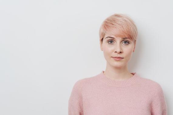 Pink Hair Woman