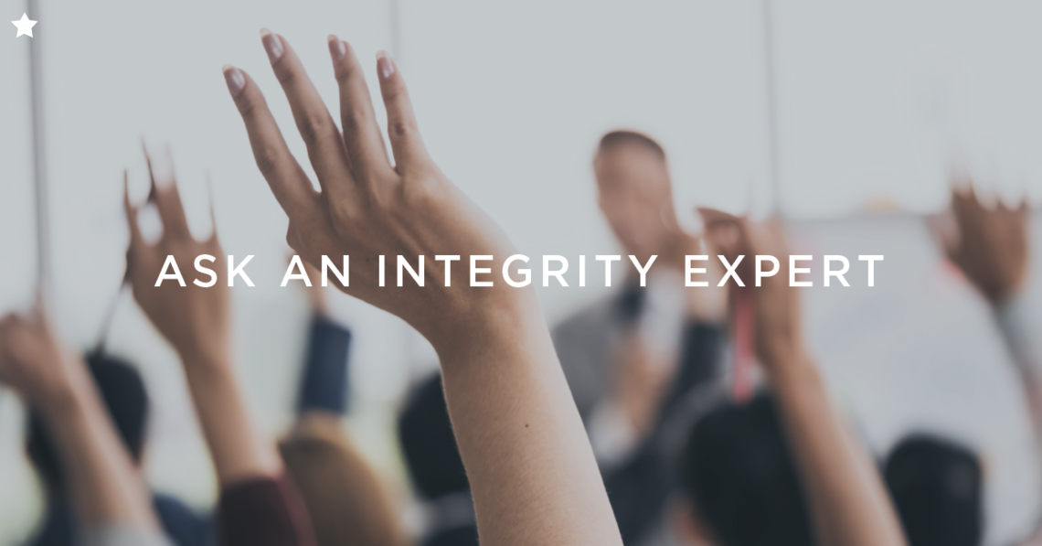 oct12 10 15 ask an integrity