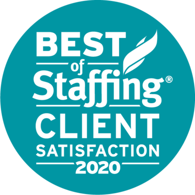 best of staffing 2020 client logo