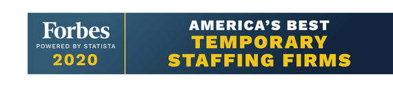 forbes america's best temporary staffing firms 2020